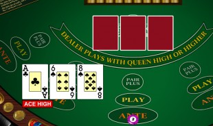 3 card poker free game