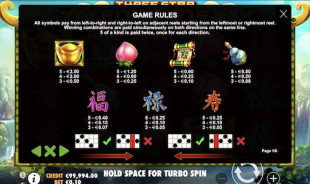 aperçu jeu Three Star Fortune 2