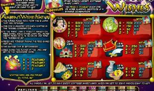 aperçu jeu Aladdin's Wishes 2