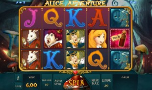 jeu Alice Adventure