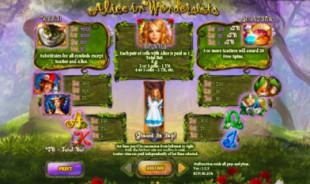 aperçu jeu Alice in Wonderslots 2