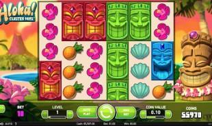 jeu Aloha Cluster Pays
