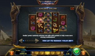 aperçu jeu Ankh of Anubis 2