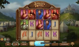 jeu Arthur's Fortune