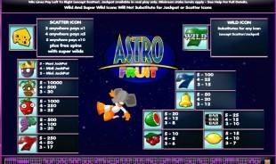 aperçu jeu Astro Fruit 2
