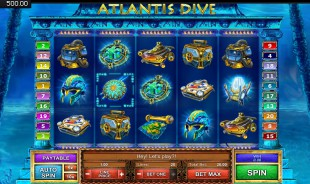 jeu Atlantis Dive
