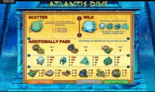 aperçu jeu Atlantis Dive 2