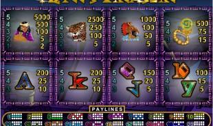 aperçu jeu Aztec's Treasure 2