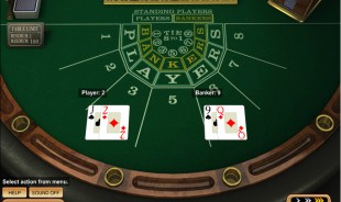preview Baccarat Betsoft 2