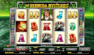jeu The Bermuda Mysteries