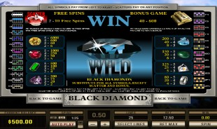 aperçu jeu Black Diamond 2