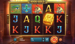 jeu Book of Gold : Double Chance