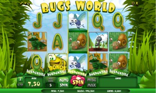 jeu Bug's World
