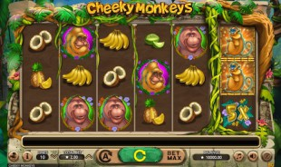 jeu Cheeky Monkeys