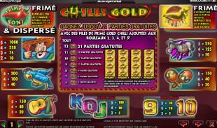aperçu jeu Chilli Gold 2