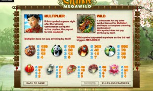 aperçu jeu China Mega Wild 2