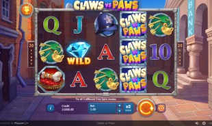 jeu Claws vs Paws