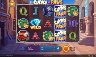 aperçu jeu Claws vs Paws 1