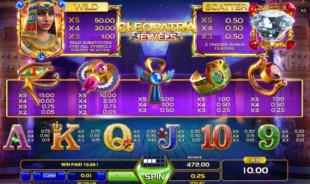 aperçu jeu Cleopatra Jewels 2