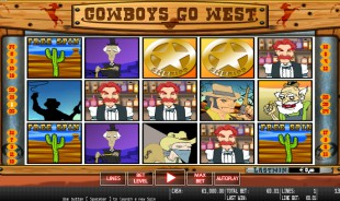 preview CowBoys Go West 1