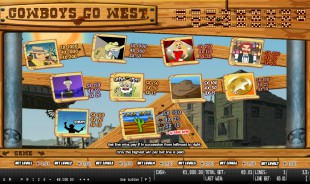 aperçu jeu CowBoys Go West 2