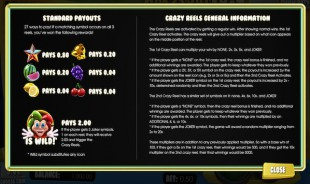 aperçu jeu Crazy Jackpot 60.000 1