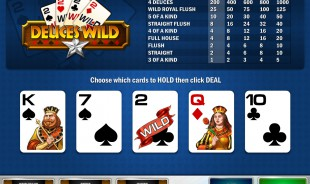 Deuces Wild MultiHands free game