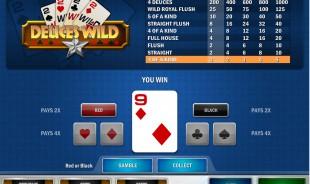 aperçu jeu Deuces Wild MultiHands 2