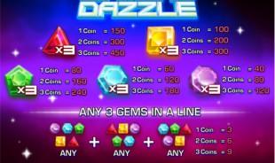 aperçu jeu Diamond Dazzle  2