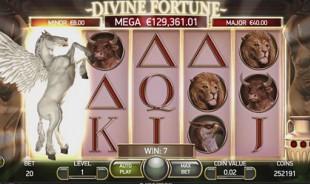 aperçu jeu Divine Fortune 1