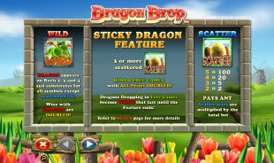 Dragon Drop™ Slot Machine Game to Play Free in NextGen Gamings Online Casinos