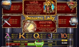 aperçu jeu Dragon Lady 2