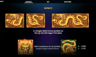 aperçu jeu Dragon Match Megaways 2