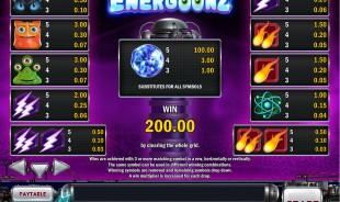 aperçu jeu Energoonz 2