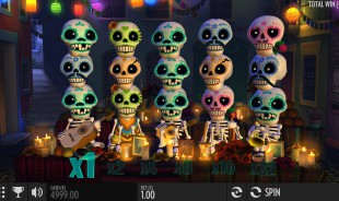 jeu Esqueleto Explosivo