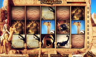 aperçu jeu Fortune of the Pharaohs 1