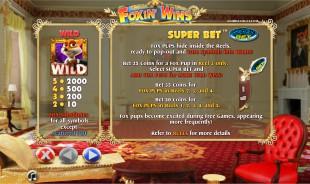 aperçu jeu Foxin' Wins 2