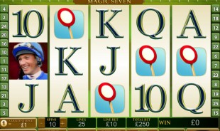 aperçu jeu Frankie Dettori Magic Seven 2