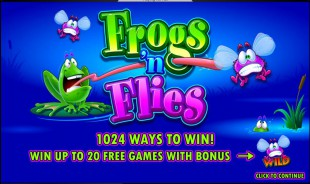 aperçu jeu Frogs n Flies 1