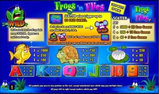 aperçu jeu Frogs n Flies 2