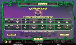 aperçu jeu Fruitbat Crazy 2