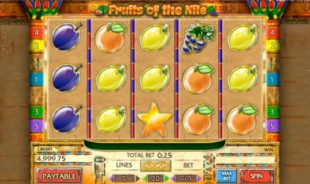 jeu Fruits of The Nile