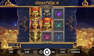 aperçu jeu Gods of Gold 1