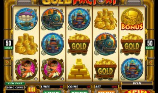 Machine à sous Gold Factory gratuit dans Microgaming casino