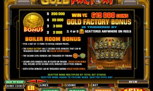 aperçu jeu Gold Factory 2