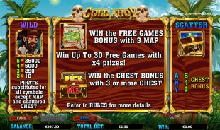 Gold Ahoy™ Slot Machine Game to Play Free in NextGen Gamings Online Casinos