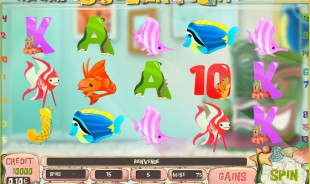 jeu Golden Fish