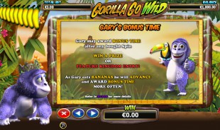aperçu jeu Gorilla Go Wild 2