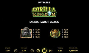 aperçu jeu Gorilla Kindgom 2