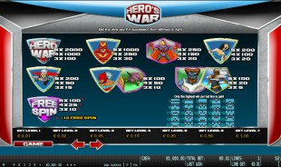 preview Hero's War 2